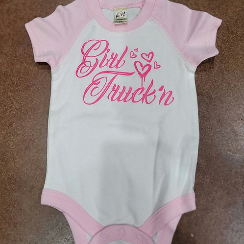Girl Truck'n- Onesie