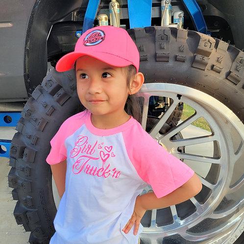 Pink Raglan- Toddler