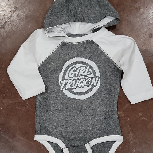 Hooded Onsie- Baby