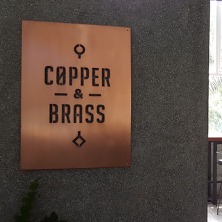 Copper & Brass - Nuart Cafe