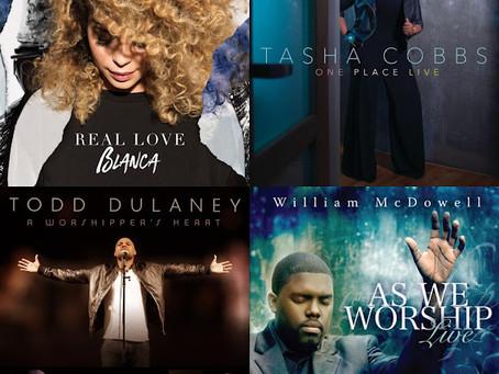 Worship music selection