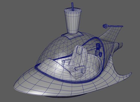 Detail Image of Spaceship