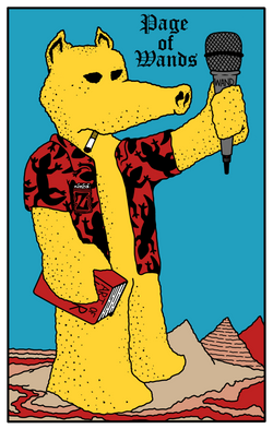 Lord Quas - Page of Wands