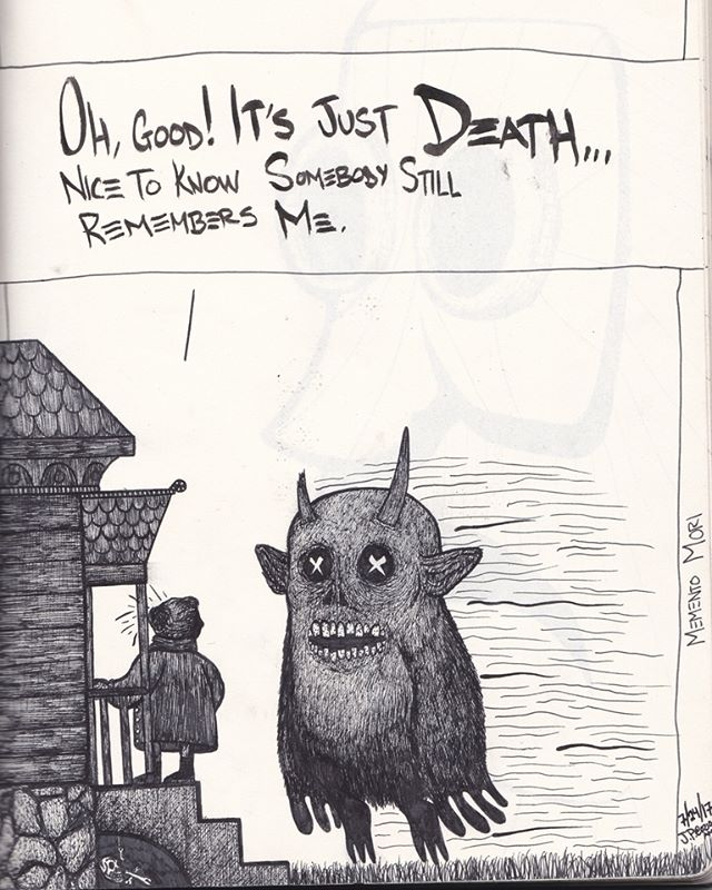 It's just death..