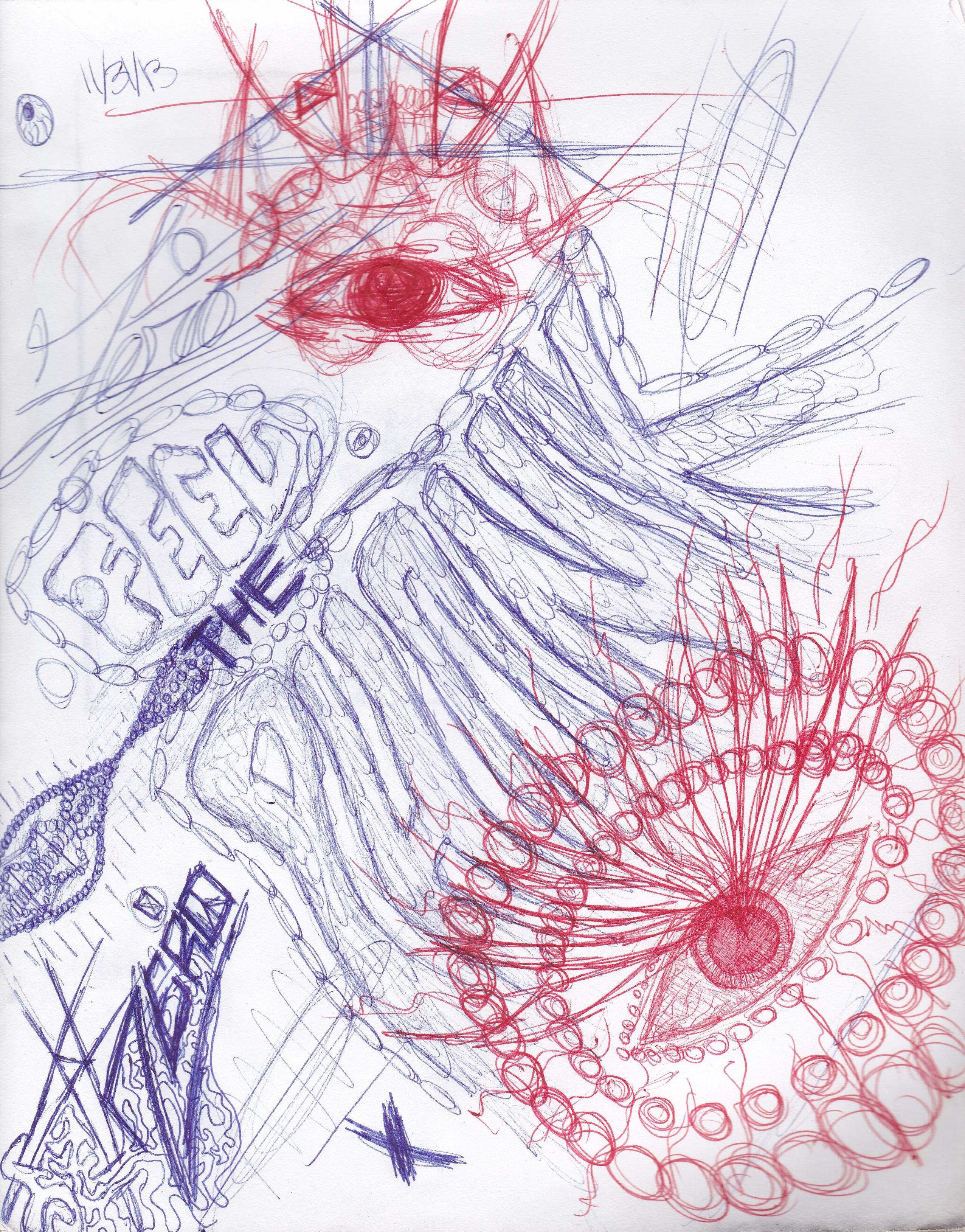 Acid Trip Drawings