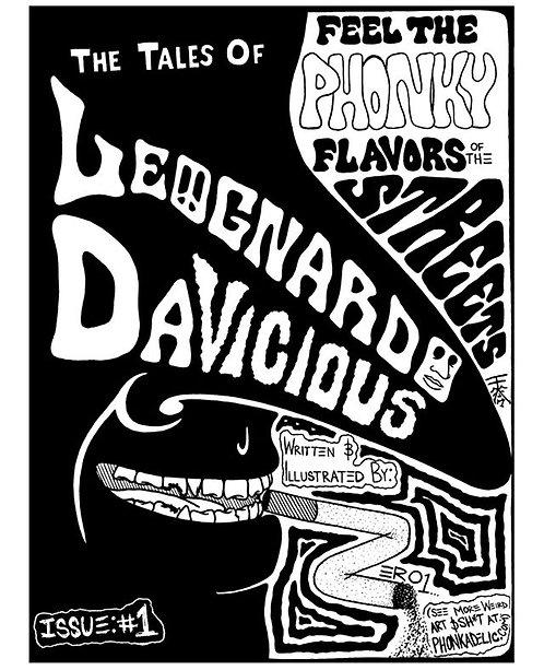 Tales of LeoGnardo DaVicious Zine Issue #1