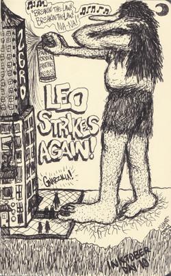 Leo Strikes Again!!!