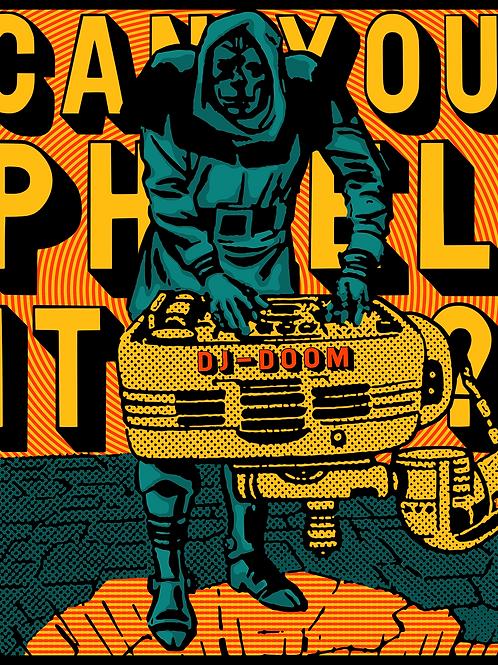 """""""DJ-DR. DOOM"""" - hip hop print"""