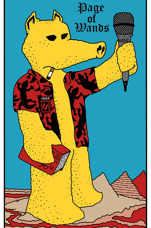 Lord Quas the Page of Wands - Print