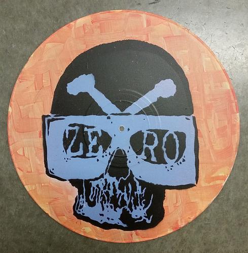 """""""Psychomaniac"""" - Stencil on 12"""" Vinyl"""