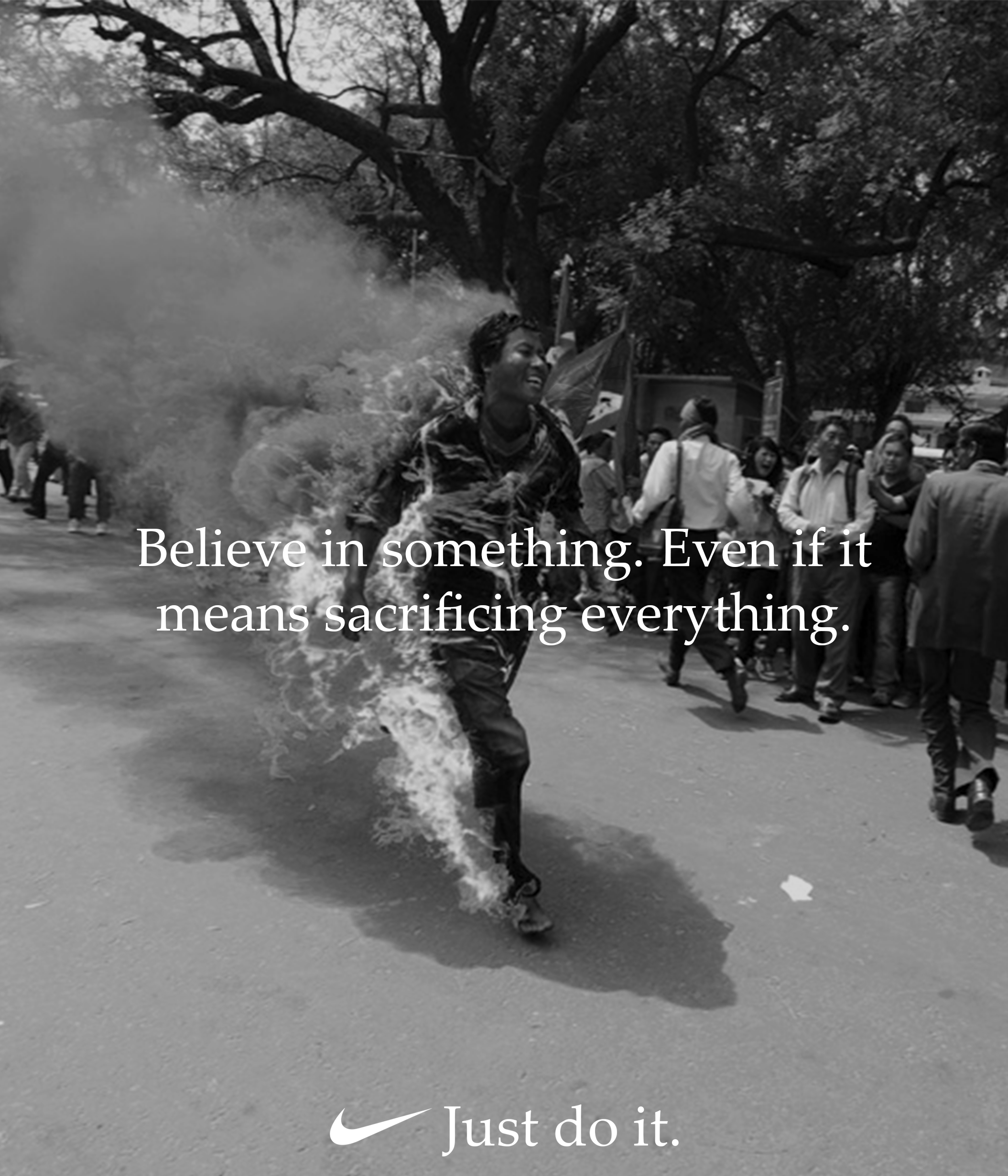 Just Do It - Self Immolation Runner