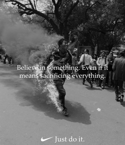 Just Do It - Self Immolation Runner