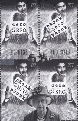 Postage Stamp Collage