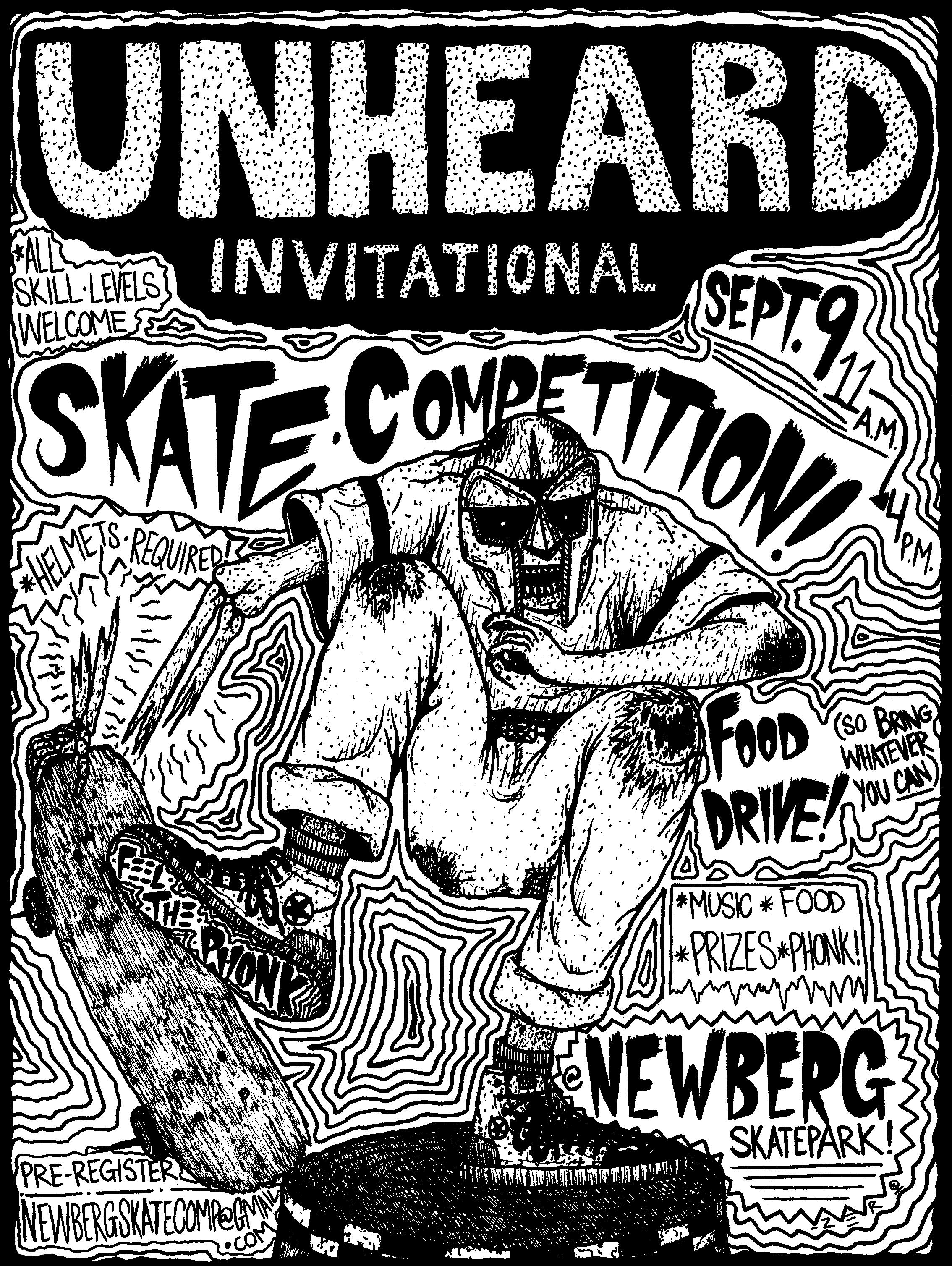 Newberg Skate Comp Flyer
