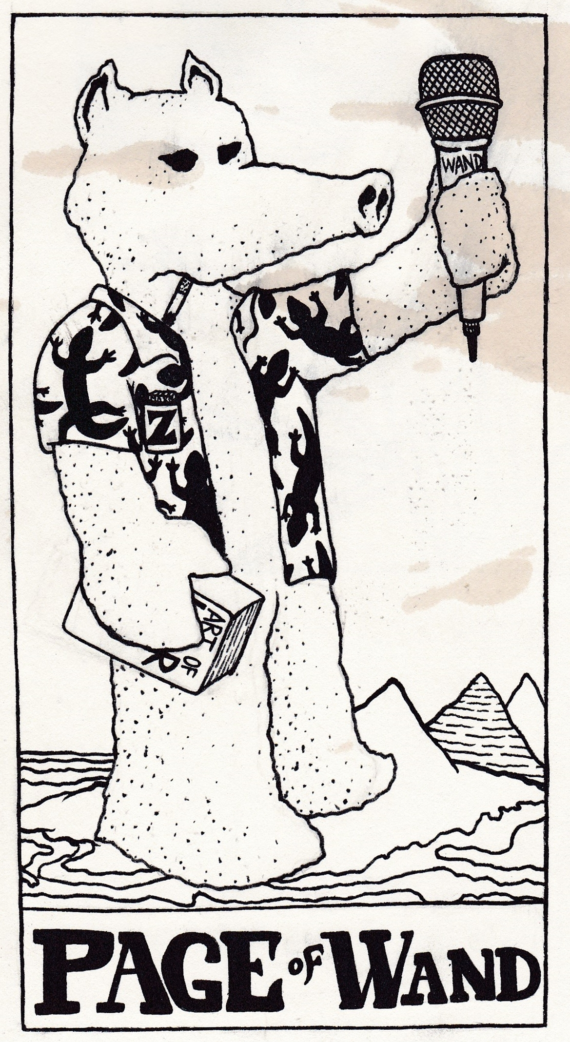 Lord Quas the Page of Wands