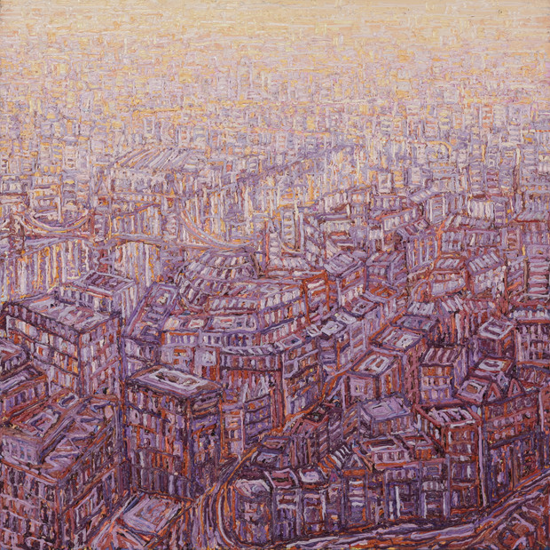 'East London From The Shard'