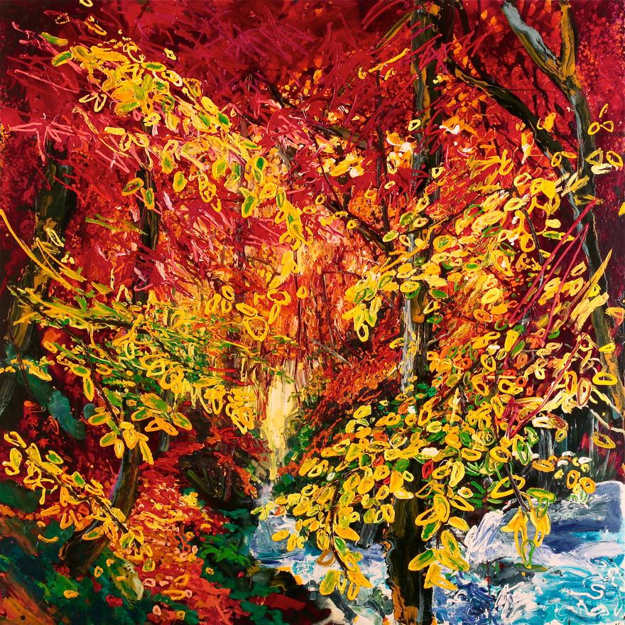 'Autumn, Rydal Falls'