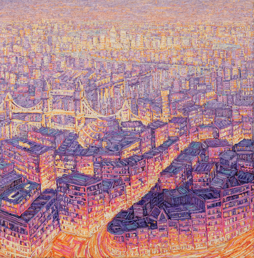 'London at Dusk From The Shard, 2020'