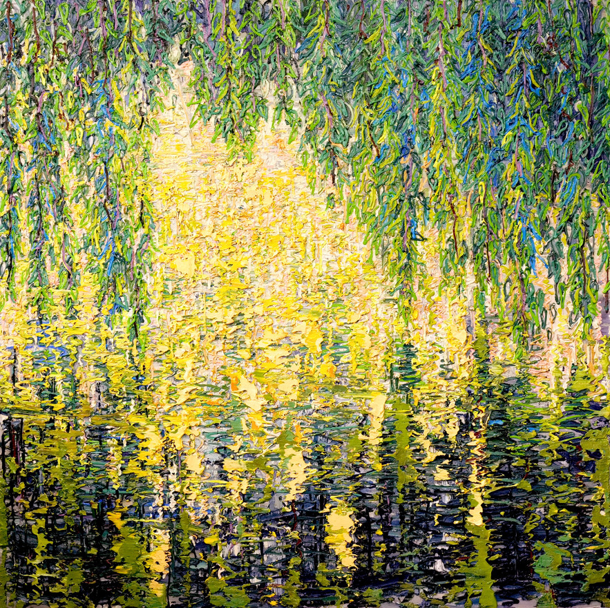 'Willow Reflections, 2019'
