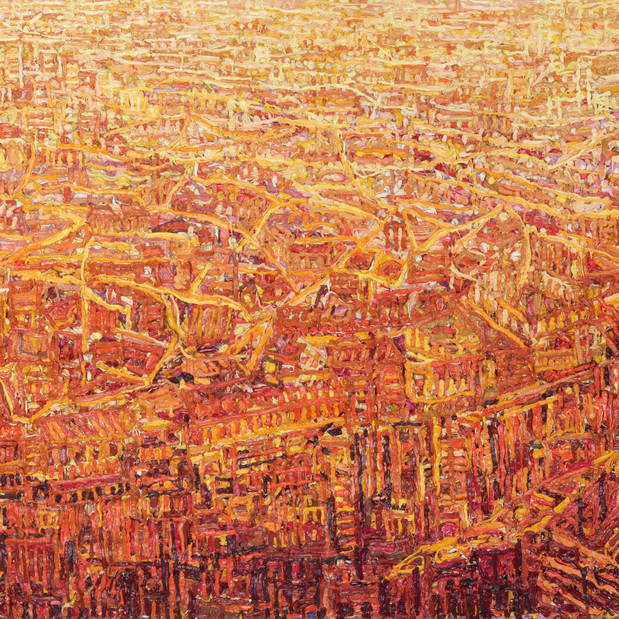 'North London From The Shard'