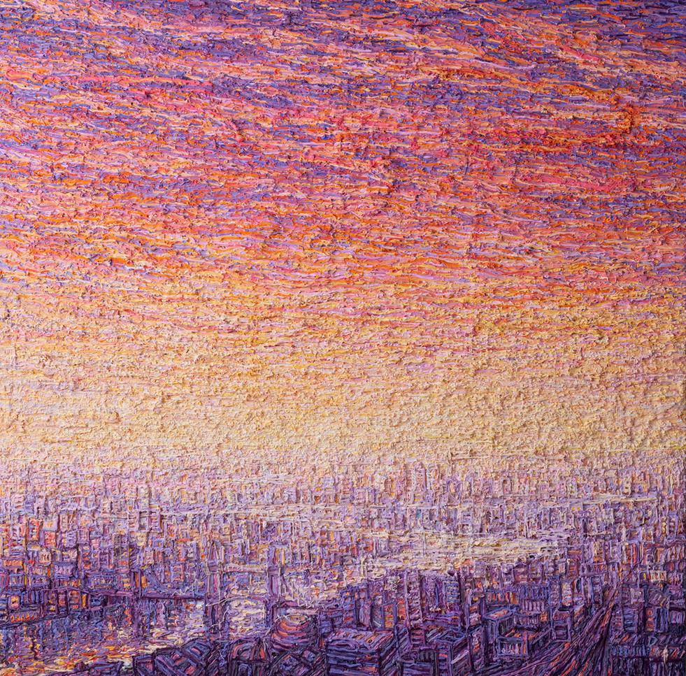 'London From The Shard, Sunrise, 2019'