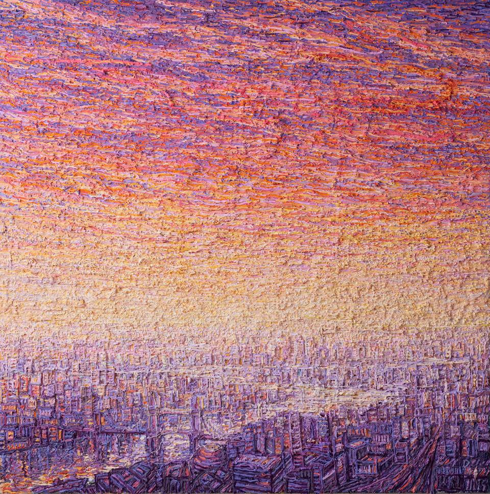 'London From The Shard, Sunrise'