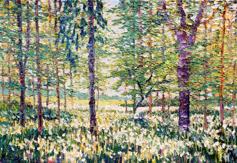 'Garlic, Spring Wood, Rudding, 2020'