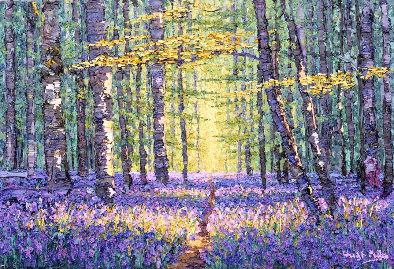 'Bluebells, Spring Wood, 2020'