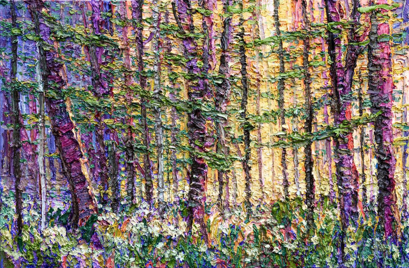 'Parkin Wood, Rudding, Garlic Carpet' 2020