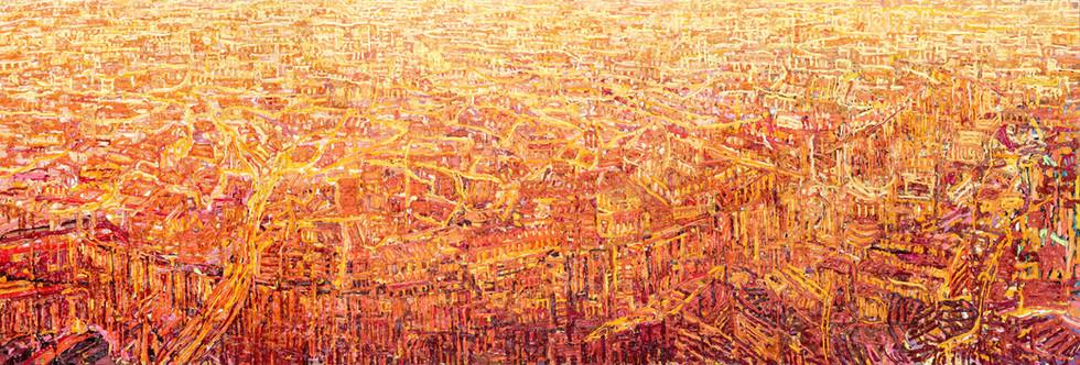 'Panoramic View Of London, 2019'