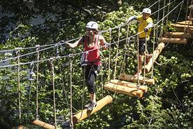 arbraska rawdon parcours dans les arbres