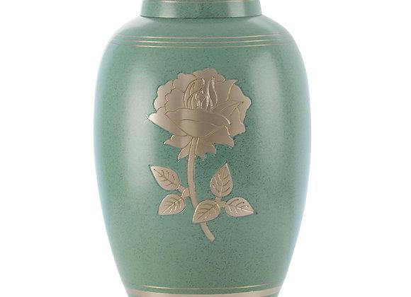 Celtic Silver Rose Urn