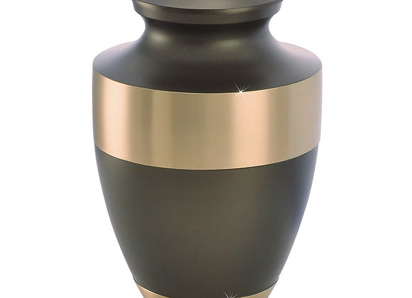 Artisanal Brass Urn