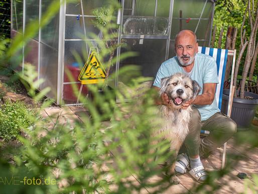 Peter und sein Hund