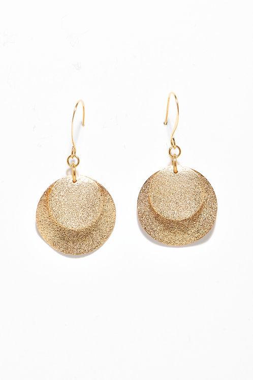 Double Sphères gold