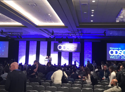 My experience at ODSC West 2019