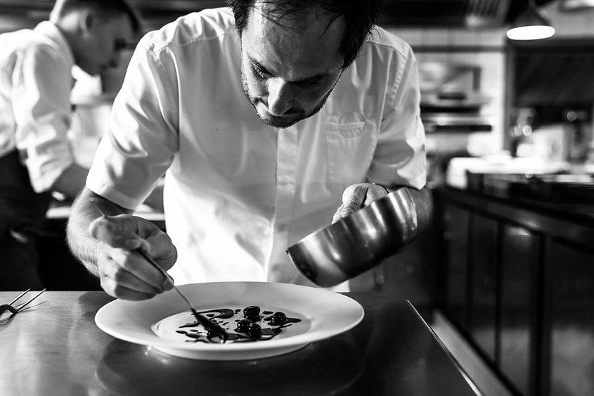Alexandre couillon en cuisine