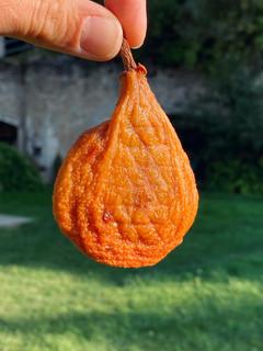 Les poires tapées