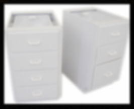 Custom | Plastic Fabricated | Casework | PVC Cabinet | Plastic | Polypropylene | Four Drawers | Three Drawers | 3 Drawers | 4 Drawers |