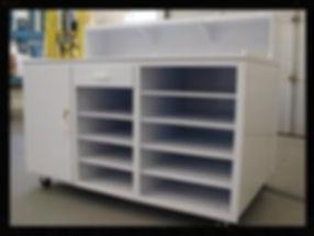 Custom Orders | Custom Plastics | Polypropylene Work Station