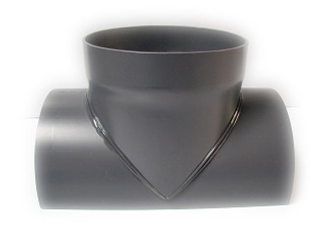 6 Inch On 10 Inch Diameter Pvc 90 Degree Saddle Chemical
