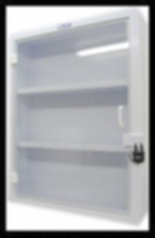 Custom | Plastic Fabricated | Casework | Fire Retardant Wall Cabinet | Plastic | Polupropylene