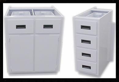 Custom | Plastic Fabricated | Casework | PVC Cabinet | Plastic | Polypropylene | Recessed Handles