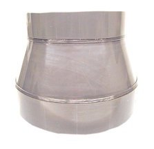 6 Inch to 4 Inch Diameter CPVC Reducer