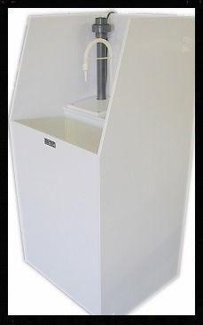 Glove Rinse Sink| Polypropylene| Tanks | sinks |