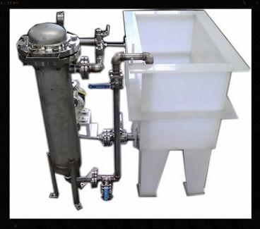 Natural Polypropylene Tanks with Steel Girth | Tanks | sinks |