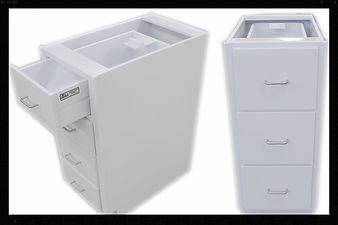 Custom | Plastic Fabricated | Casework | PVC Cabinet | Plastic | Polypropylene | Steel Handles