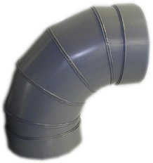 20 Inch Diameter CPVC 90 Degree Elbow