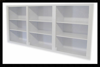 Custom | Plastic Fabricated | Casework | Fire Retardant Wall Cabinet | Plastic | Polypropylene | Triple Wall Cabinet