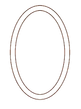 thick double lined oval monogram transp.